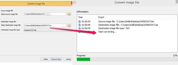 AnyBurn- convert any image file