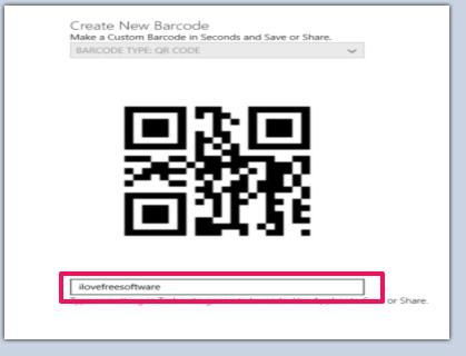 Barcoder- Generate barcode