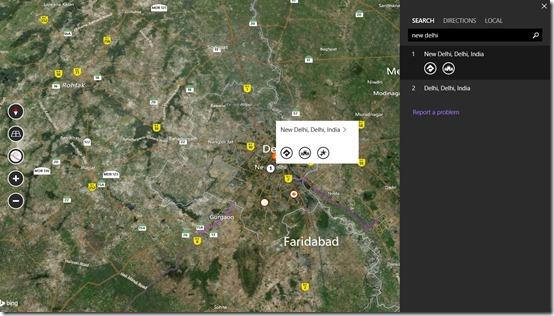 Bing Maps Preview- Search