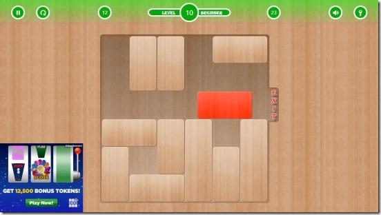Blocked - gameplay