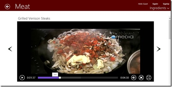 Christmas Food- Preparation video