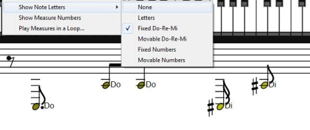 Convert Midi to Sheet Music - Midi Sheet Music - Note letters