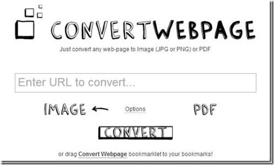 ConvertWebPage-website to pdf-home page