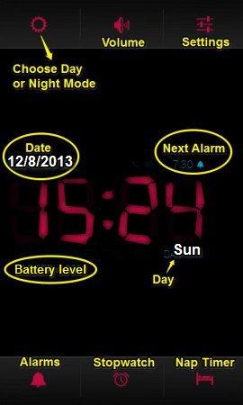 Digital-Alarm-Clock-UI