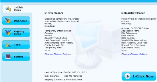 EasyPC Cleaner- 1 click clean