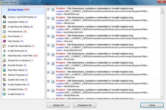 EasyPC Cleaner- registry clean