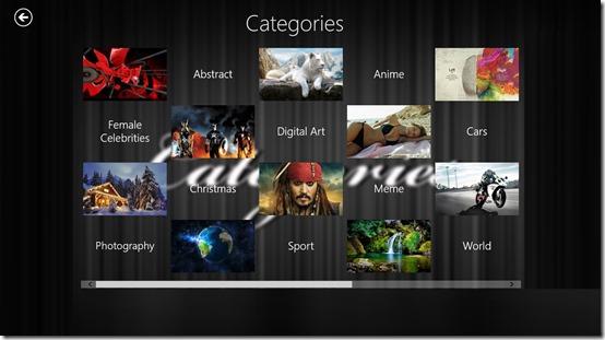 Explore HD Wallpapers- Categories