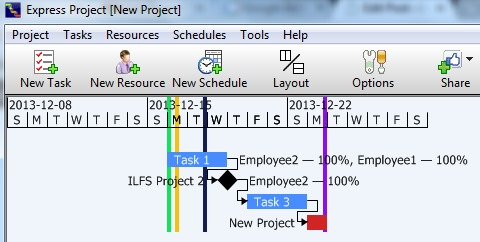 Express Project- project chart