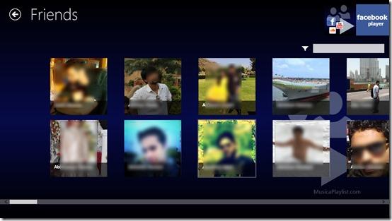 Facebook Player- Friends
