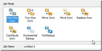FileGee Backup & Sync Personal Edition-backup and sync software-job mode