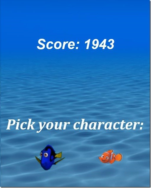Finding Nemo Jelly Jump - game score