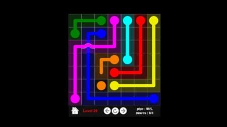 Flow Colors Bridges- Game play