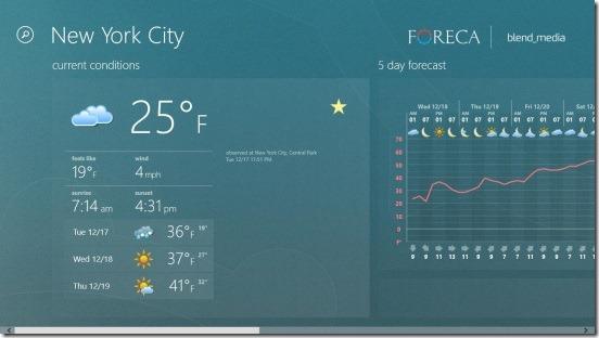 Foreca Weather - weather forecast