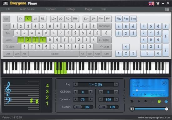 Free Computer Keyboard Piano - Everyone Piano
