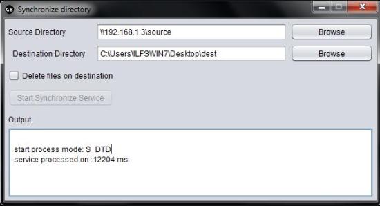 Free Cross Platform File Copy Utility - GBCopy - Synchronize