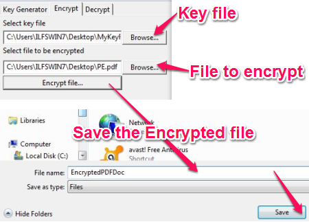 Free Encryption tool - Subcrypter - Encryption