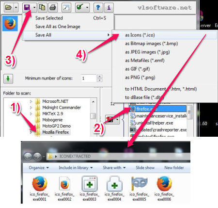 Free Icon Extractor For Windows - Icons From File - Extract Icons to Folder