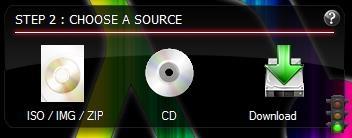 Free Live Linux USB Creator - LiLi - Choosing a source