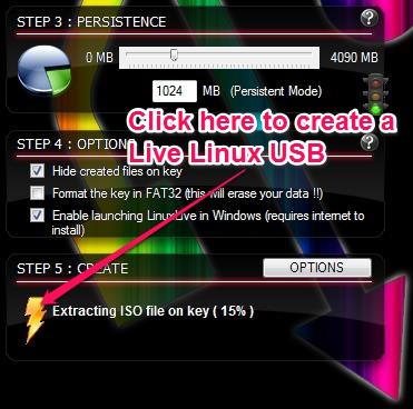 Free Live Linux USB Creator - LiLi - Creating a Live Linux USB