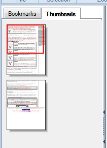 Free PDF Reader- view pdf thumbnails