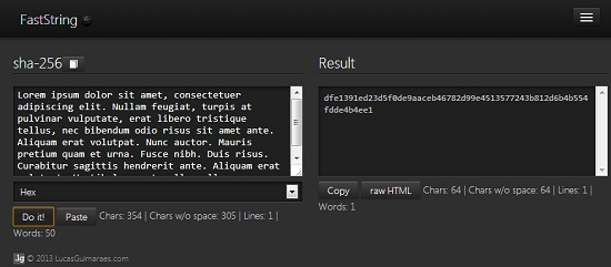 Free String Encoding Extension - FastString - Interface