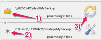 Free Sync Software - Ooii Sync Folders - Select Folders