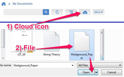 Free online data storage - SurDoc - Uploading