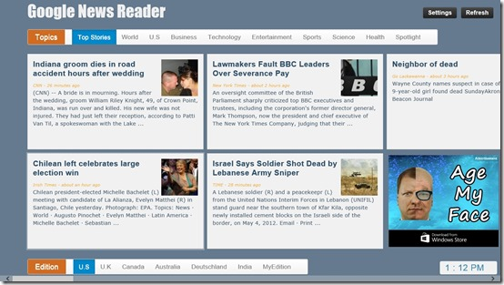 Google News - Reader