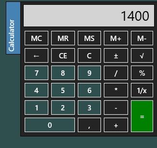 Home Money- Calculator