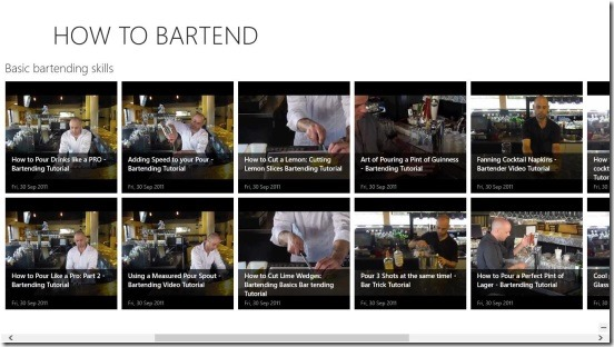 How To Bartend - main screen