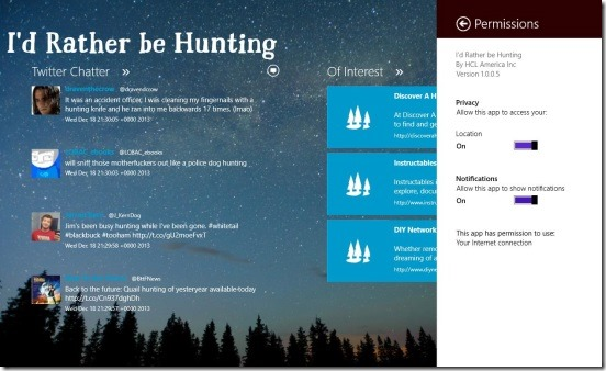 I'd Rather be Hunting - setting loaction auto-tracking on