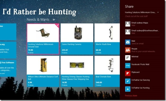 I'd Rather be Hunting - sharing tools information