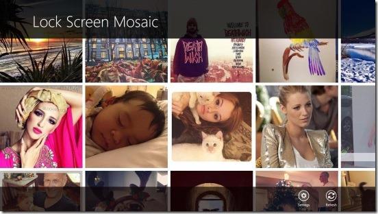 Instagram Lock Screen