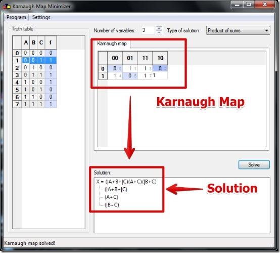 Karnaugh Map Calculator k maps calculator   Tirevi.fontanacountryinn.com Karnaugh Map Calculator