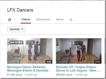 YouTube Channels-YouTube Channels-LFX Dancers