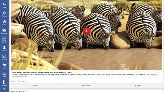 Lucky FB- Full Screen