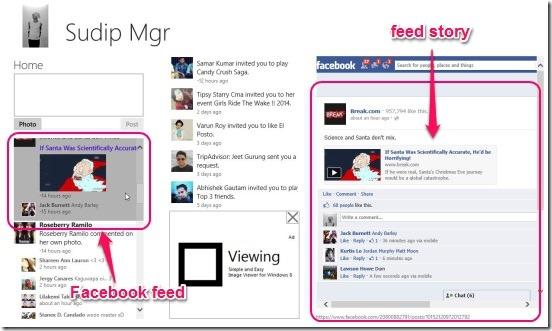 Minimal - App's UI and feed story