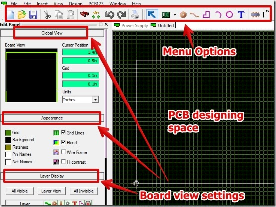 Free Pcb Design Software To Design Pcb View 3d Design Pcb123