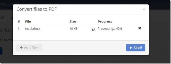 PDF Burger-convert files to pdf