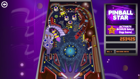 Pinball Star- Game play