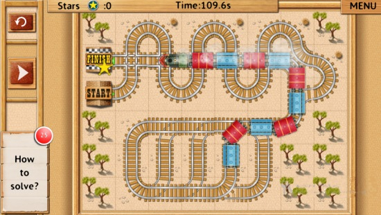 Rail Maze- Game