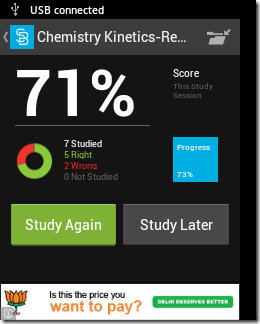 Free Android Flashcard App To Save Flashcards Online and