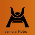 Samurai Notes- Featured