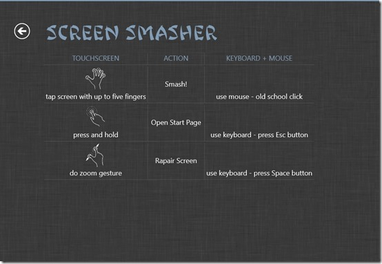 Screen Smasher- working