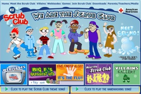 Scrub Club-Scrub club-home page