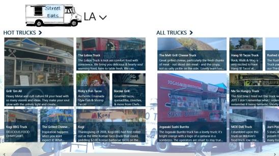 StreetEats  - food trucks in LA