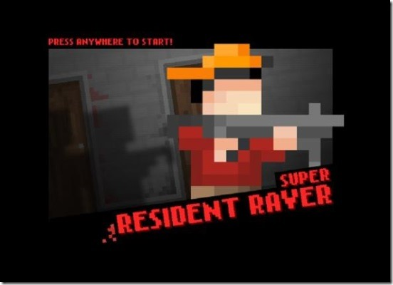 Super resident Raver - splash screen