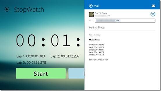 Timer & Stopwatch Ultimate- Share the timings