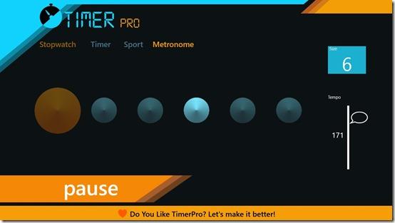 TimerPro- Metronome