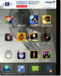 Transparent Screen features